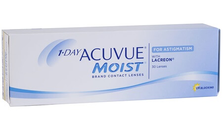 Johnson & Johnson One Day Acuvue Moist For Astigmatism