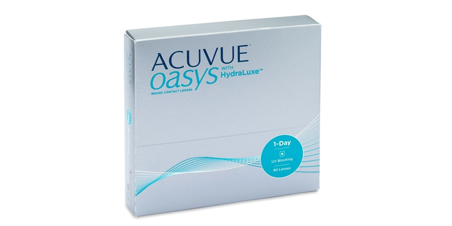 johnson & johnson Acuvue One Day Acuvue Oasys 90PCK